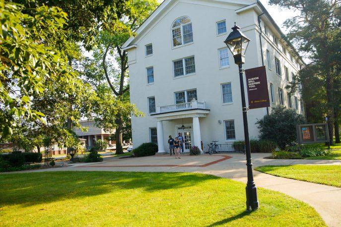 Albion College campus