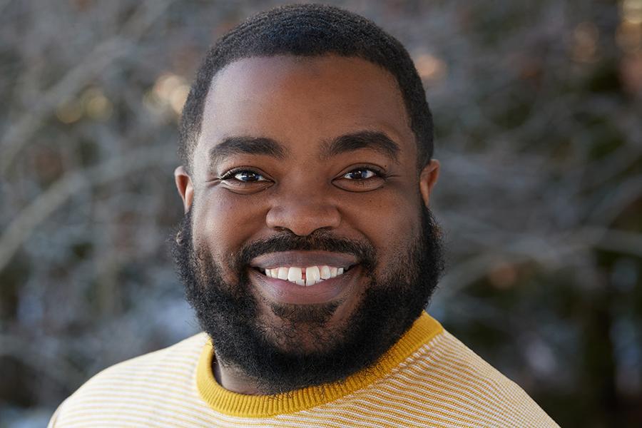 Dominick Quinney, assistant professor of ethnic studies, Albion College