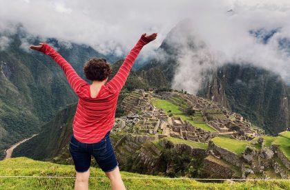 Tori Wiese in Peru.