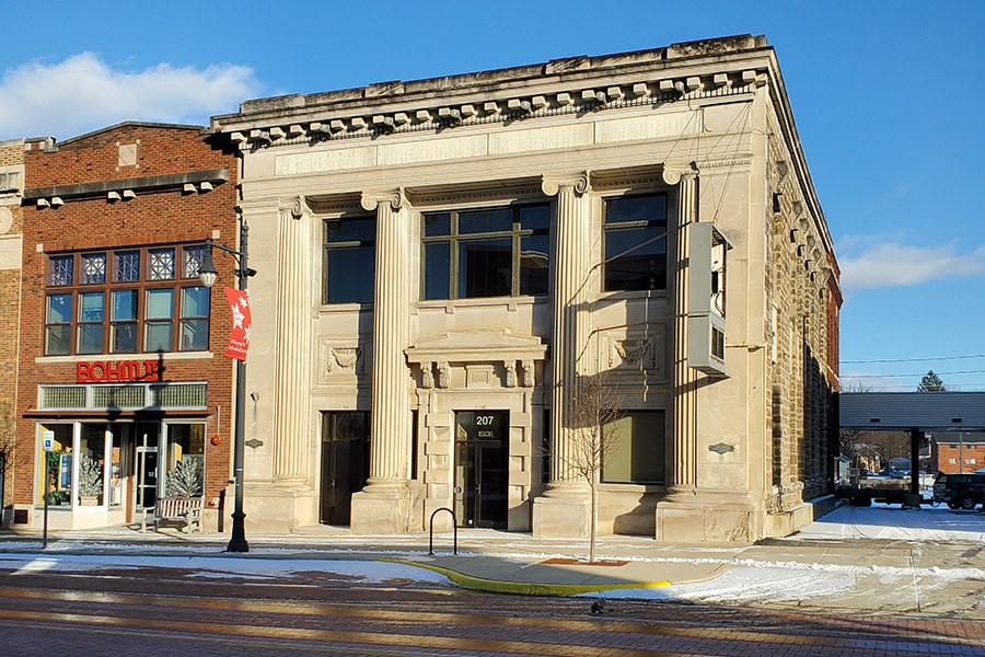 207 S. Superior St. in downtown Albion will serve as the home of the Albion College Community Collaborative.