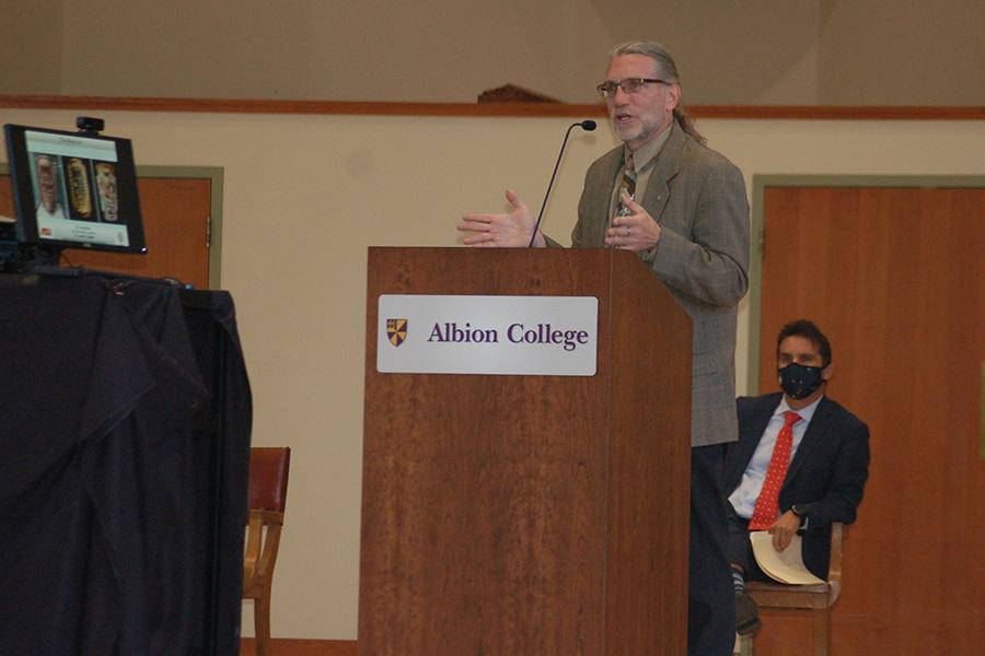 Dr. Joel Palka, professor of anthropology, Arizona State University