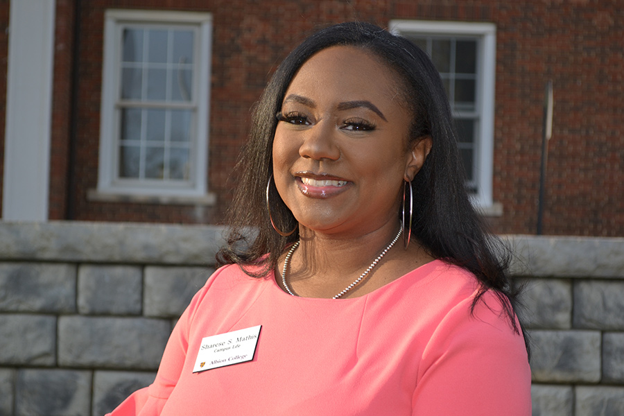Sharese Shannon Mathis, assistant dean of campus life, Albion College