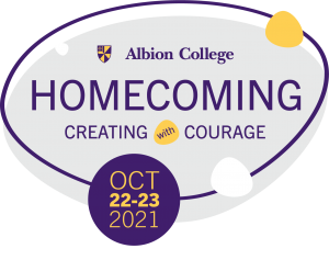 Albion College Homecoming, Creating with Courage, Oct. 22-23, 2021