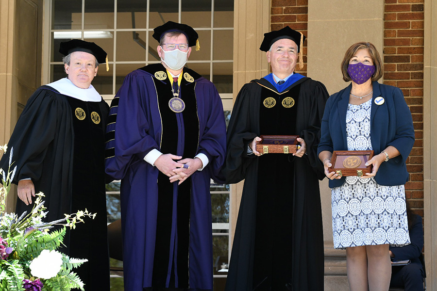 Commencement, Albion College, May 8, 2021